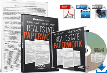 Download best Real Estate Paperwork and Processes for Buying Selling Investment Property! Download Investor-Friendly Forms Training