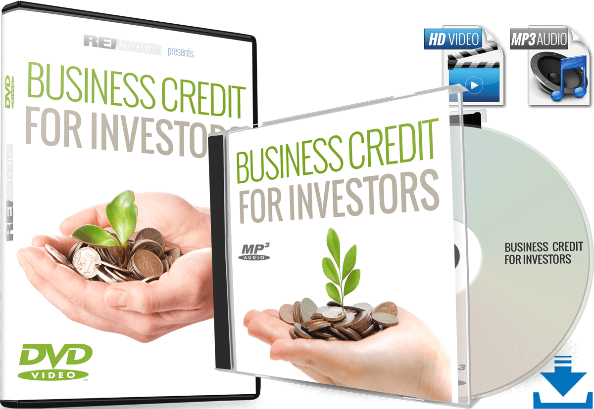 Master Investment Business Credit in 2020 with Business Credit for Real Estate Investing and Real Estate Investors Association™