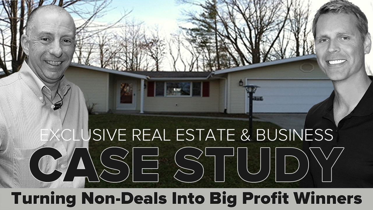 Creative Investor using Private Lenders gets bigger ROI on Indiana investment property selling with leased option technique.