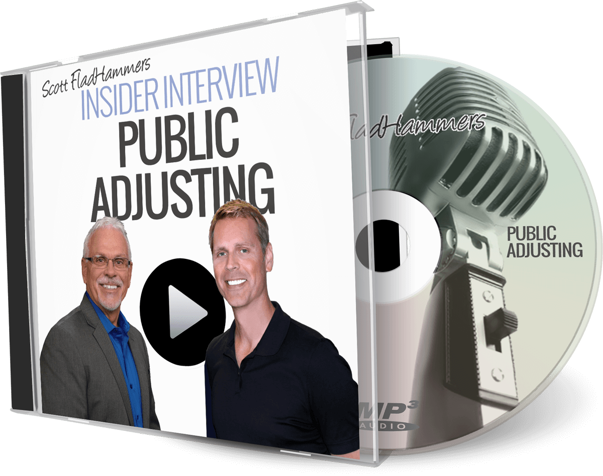 Learn to  How Public Adjusting Works for the Real Estate Investor with coaching mentorBill Watterud