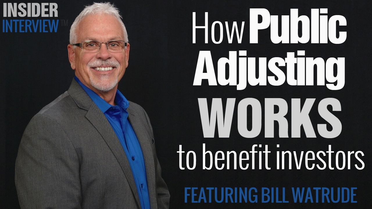 Learn How Public Adjusting Works for the Real Estate Investor and make money How Public Adjusters Increase Settlements on Insurance Claims for Indiana Real Estate Investors