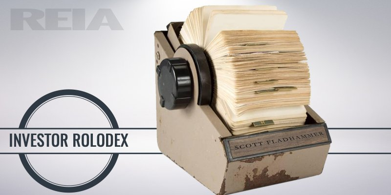 Get real estate investing expert Scott FladHammer's personal little black book of local contacts